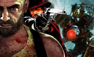 Illustration for article titled Take-Two Pegs New BioShock, Max Payne, Red Dead For First Half Of 2010