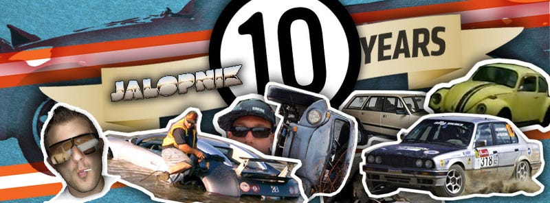Illustration for article titled Jalopnik Is Ten! Show Us Your Favorite Stories From The Last Decade