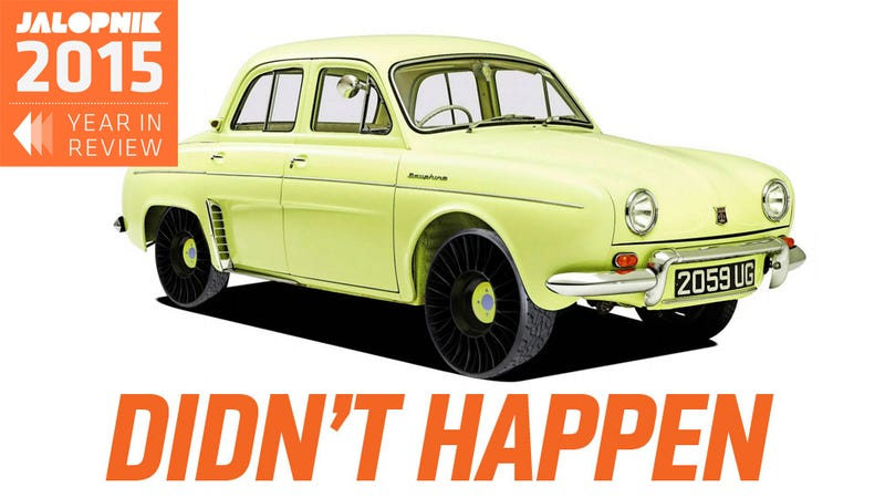 Illustration for article titled 10 Car Things That Should Have Happened In 2015