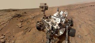 Illustration for article titled Curiosity detecta picos de metano que podrían apuntar a vida en Marte