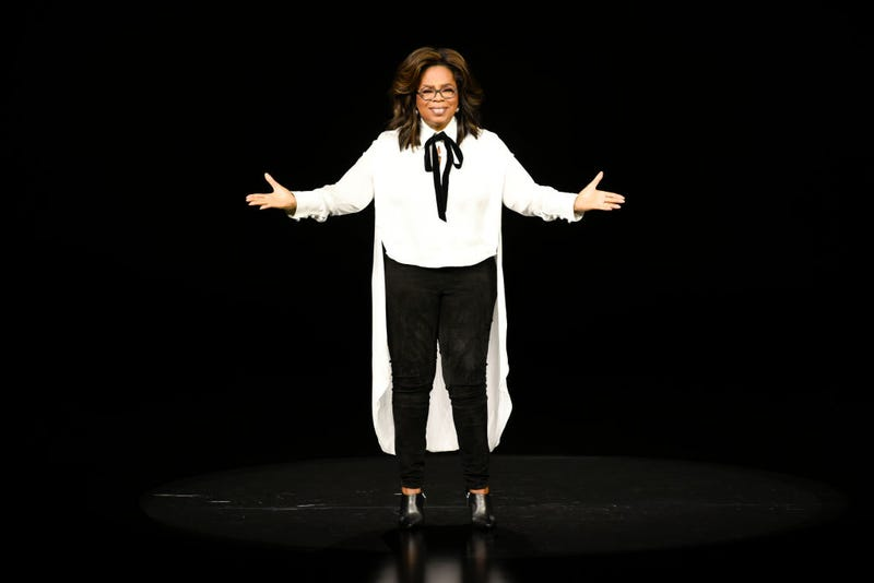 Illustration for article titled Oprah Came Through Apple's Press Event and Crushed the Buildings