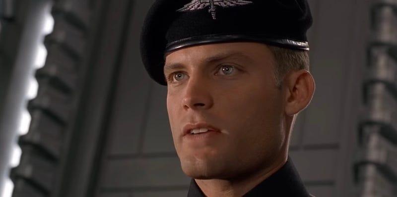 Casper Van Dien as Johnny Rico in Starship Troopers. Image: Sony
