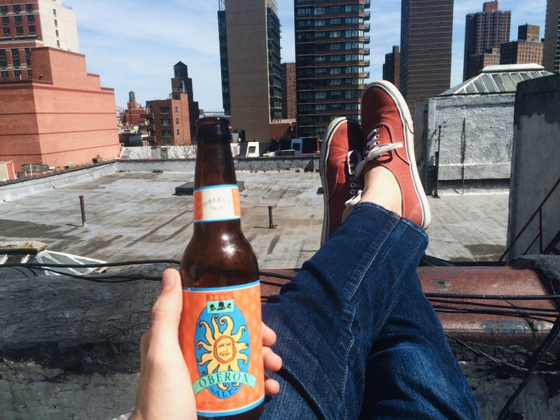 Illustration for article titled You should be drinking on a roof right now
