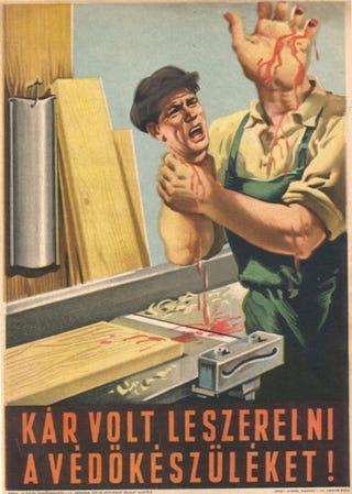 Illustration for article titled Tovább tombol a munkavédelmi testcsonkítás förgetege