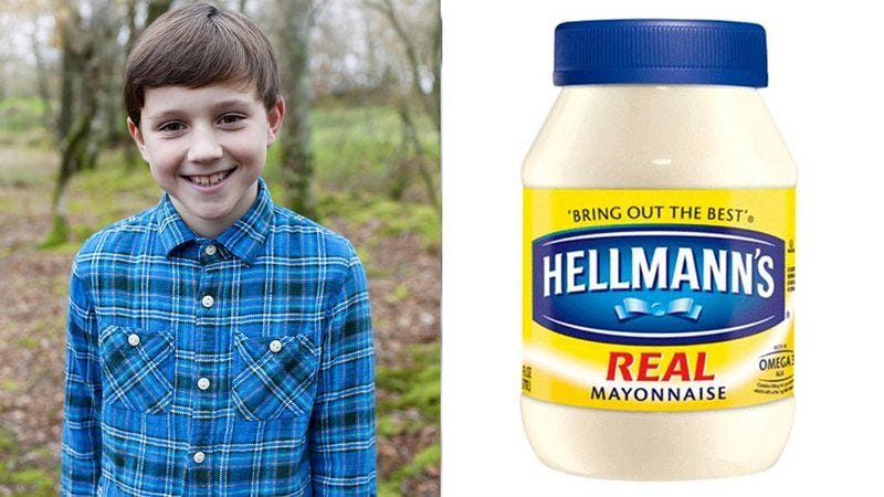 Illustration for article titled Everyone Likes Mayonnaise, But Nobody Likes My Grandson