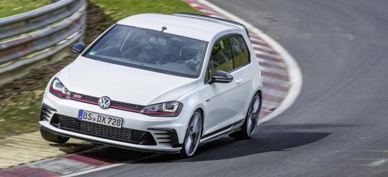 Illustration for article titled Watch The GTI Clubsport Set A Nürburgring Record Two Seconds Faster Than Last Time