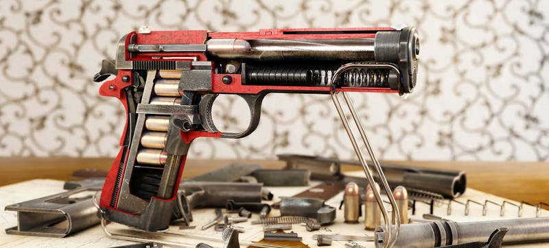 Illustration for article titled These weapons cutaways are so damn cool