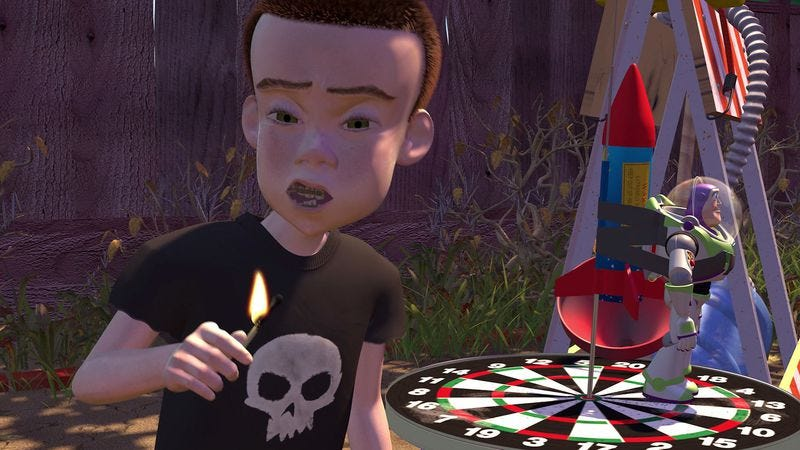 Maybe Destructive Sid From Toy Story Wasn T Such A Bad Kid After All