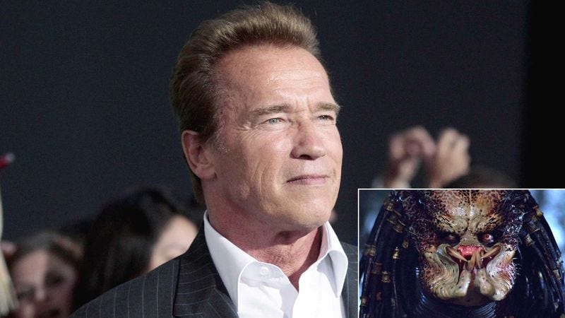 Illustration for article titled Schwarzenegger Admits To Affair With Predator Costume