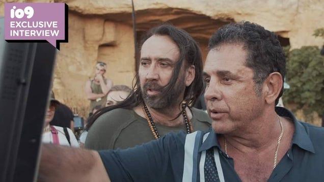 Nicolas Cage's Alien Martial