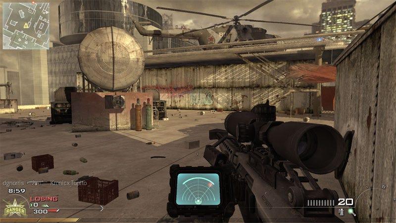 Illustration for article titled Modern Warfare 2: PC Versus 360