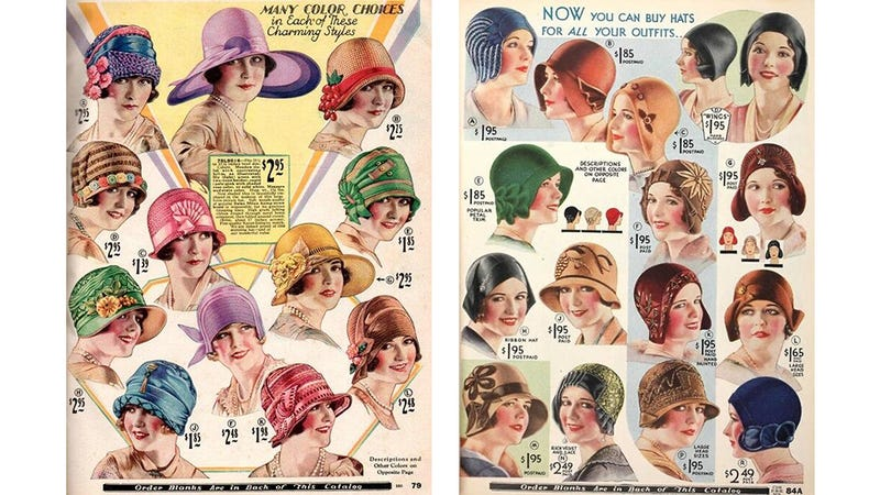 Illustration for article titled Let's Shop for Hats in the 1920s