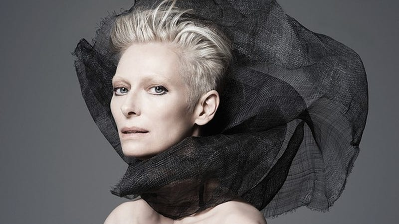 Illustration for article titled Alien Vampire Goddess Tilda Swinton Is the Spring Face of Nars