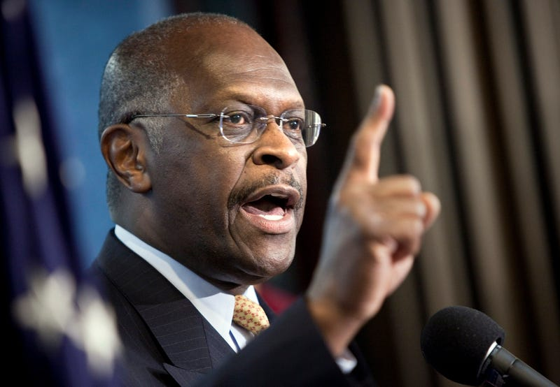 Republican Herman Cain enters GOP race for presidential nomination. (Getty)