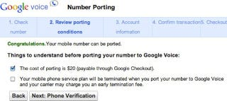 Illustration for article titled You Can Now Port Your Own Number to Google Voice (Updated)