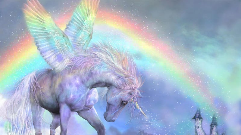 Illustration for article titled How to Write a Sex Scene Between a Unicorn and a Rainbow