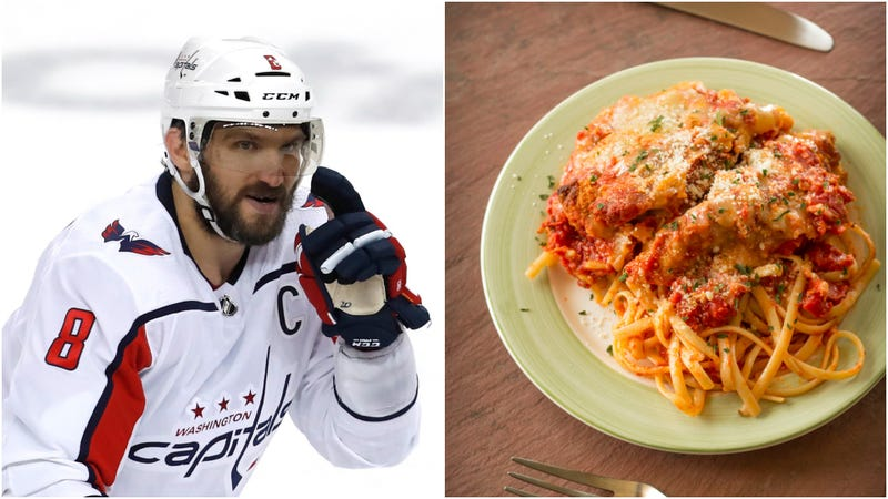 Illustration for article titled NHL star wisely pre-games with chicken Parmesan
