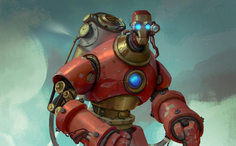 Illustration for article titled Steampunk Iron Man Was, At Least, Actually Made Of Iron