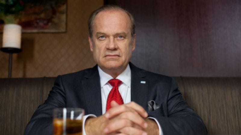 Illustration for article titled Kelsey Grammer is producing an NBC cop drama based on Freakonomics