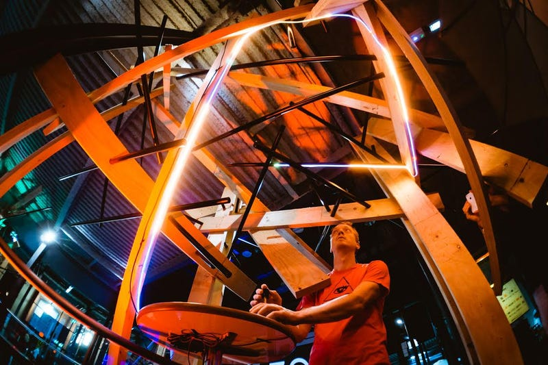 Line Wobbler at ZooMachines Festival, Lille, France 2015
