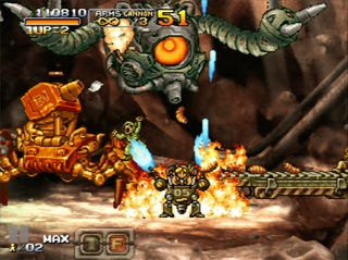 Illustration for article titled Metal Slug XX & Aqua Double Up The Shooting Action On Live Arcade This Week