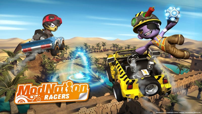 Illustration for article titled The Vita's ModNation Racers is now ModNation Racers: Road Trip
