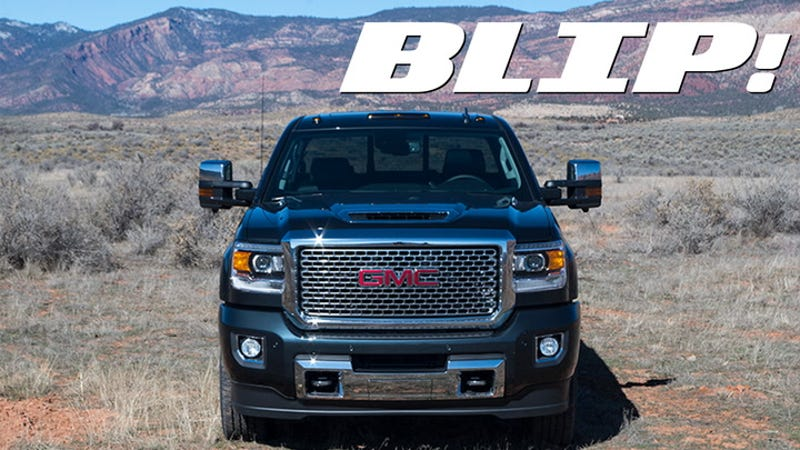 2017 Chevy Duramax >> Here's How GMC's Huge New Hood Scoop Works Without Sucking In Water