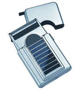 Illustration for article titled Sol Shaver Solar Razor Keeps You Civilized Even in the Wilderness