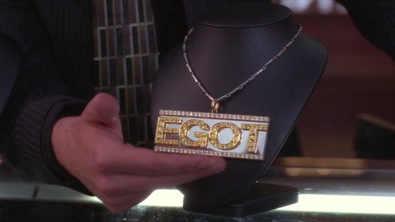 Tracy Jordan's coveted EGOT bling, 30 Rock