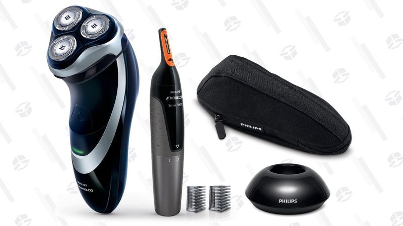 Philips Norelco 4500 with Nose Hair Trimmer | $45 | Amazon