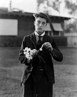 Illustration for article titled Buster Keaton: Hero