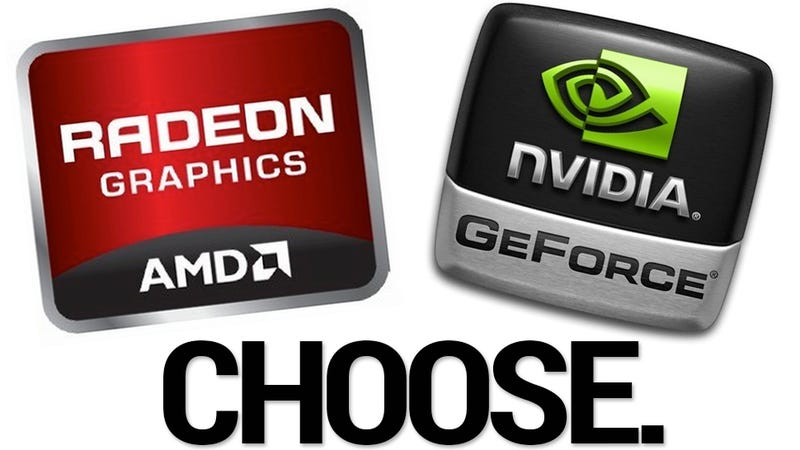 Illustration for article titled Which Graphics Card Do You Use, Nvidia or AMD?