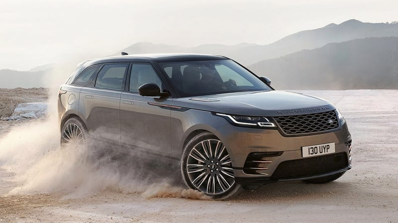New 2018 Range Rover video leaked online