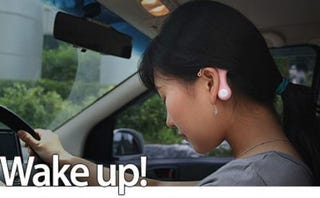 Illustration for article titled Drive Alarm, In Your Ear, Keeping You Awake
