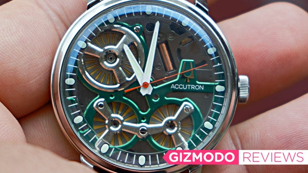 Three Electrostatic Motors Almost Make This Pricey Watch Worth It