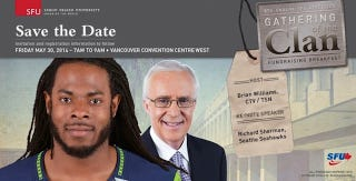 Illustration for article titled Richard Sherman To Attend Clan Rally