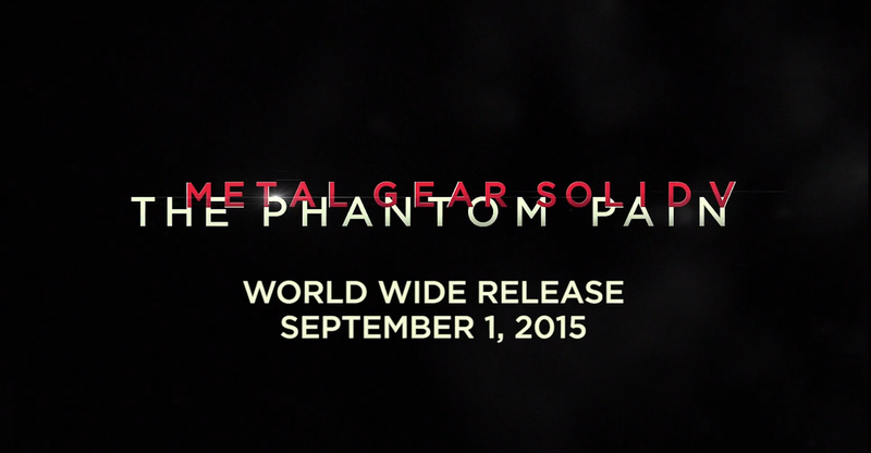 Illustration for article titled Metal Gear Solid V: Phantom Pain launches on September 1