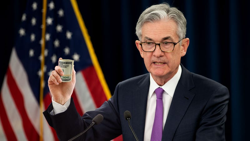 Illustration for article titled Market Rallies After Fed Chief Shows Off Huge Wad Of Cash