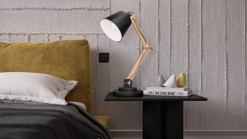 Tomons Scandinavian Desk Lamp, $29 with code MP9S3FXC