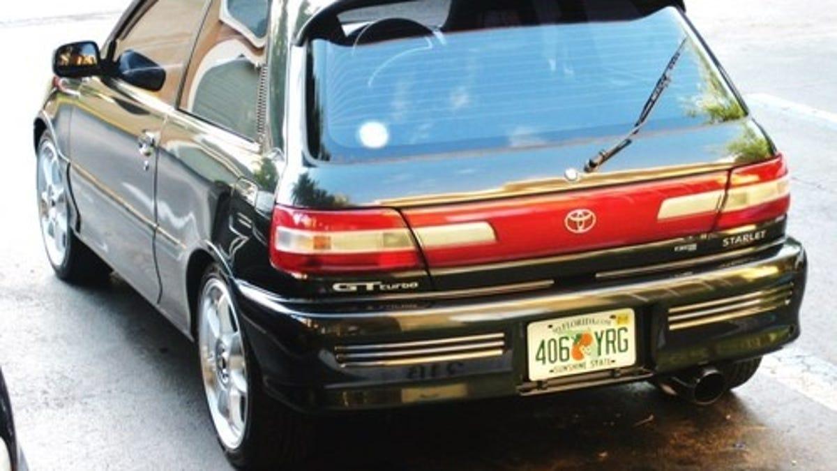 Toyota Starlet Sneaks Across the Border, Asks for $9,999!