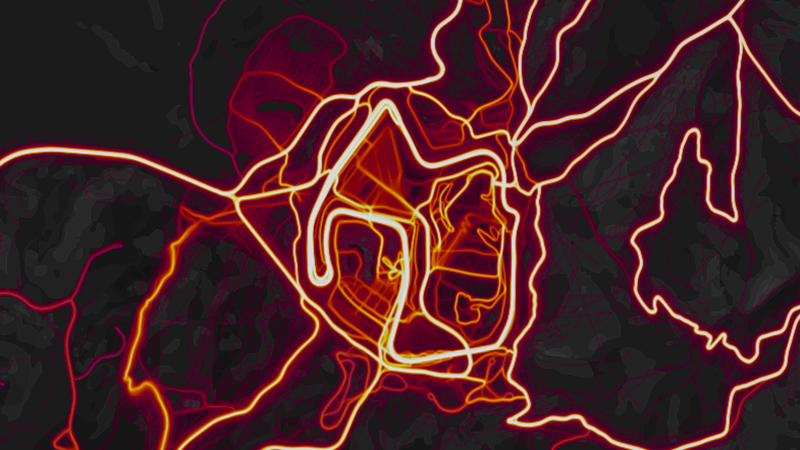 Illustration for article titled Find All Your Favorite Race Tracks On The Strava Heat Map
