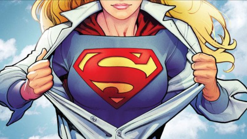 Illustration for article titled CBS wants superhero show, too, commits to Supergirl