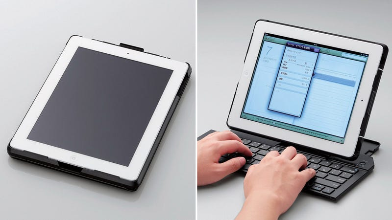 Illustration for article titled This Normal-Sized iPad Case Expands Into a Full-Sized Keyboard