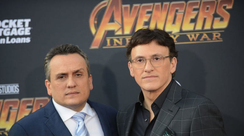 Illustration for article titled The Russos tweet a cryptic image that definitely reveals everything about the next Avengers movie
