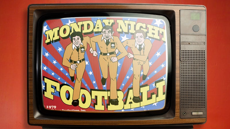Illustration for article titled Excerpts From The Long-Lost Script For Monday Night Football: The Cartoon