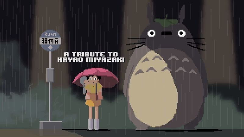 Illustration for article titled Celebrate Miyazaki with this 8-bit tribute