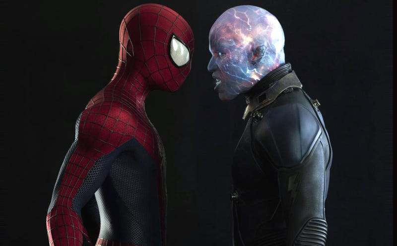 Illustration for article titled Amazing Spider-Man 2 Is A Decent Movie Smothered By Layers Of Crap