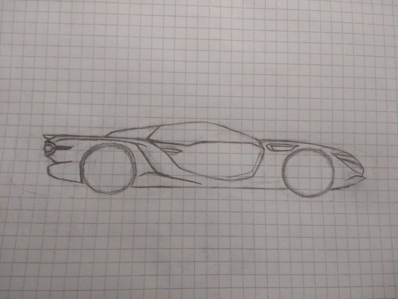 I can't draw rims for my life, and I can barely draw cars to begin with :/