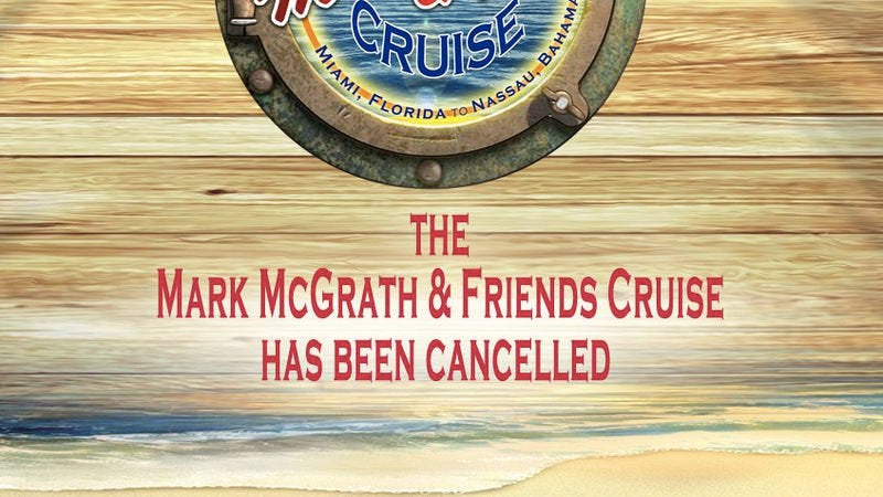 Illustration for article titled In continuing news of disasters at sea, the Mark McGrath & Friends Cruise has been canceled