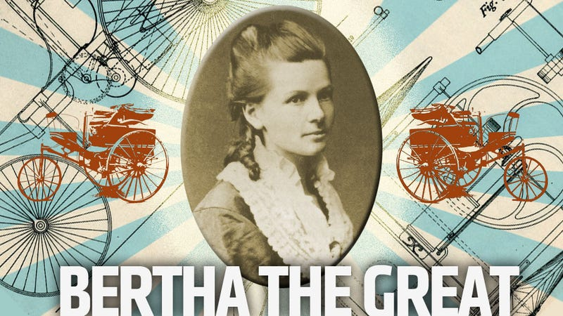 Illustration for article titled Meet Bertha Benz, The Woman Who Took The First Real Drive